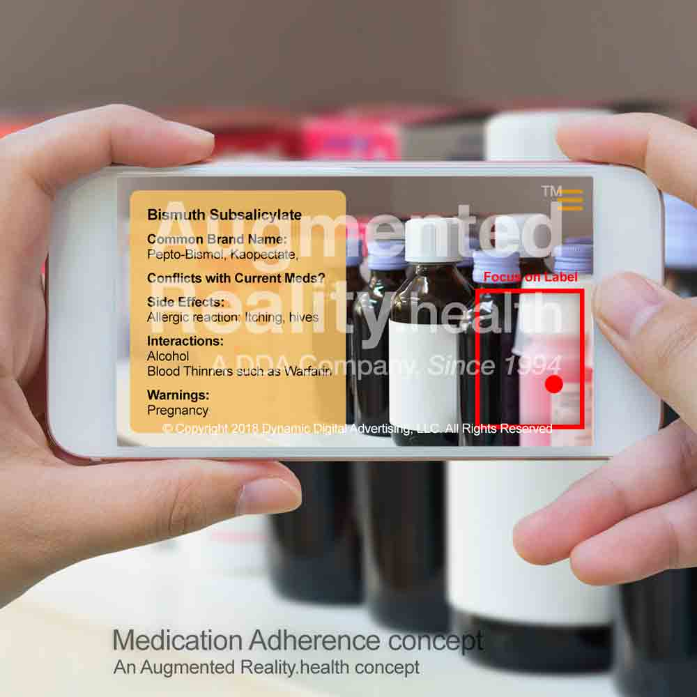 Medication Adherence AR App